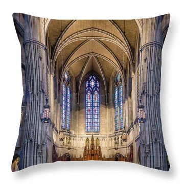 Heinz Chapel - Pittsburgh Pennsylvania Throw Pillow