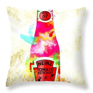 Heinz Throw Pillow
