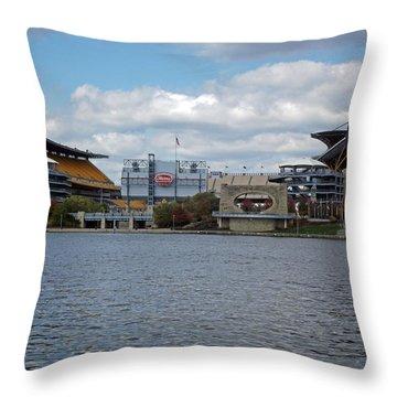 Heinz Field  Throw Pillow