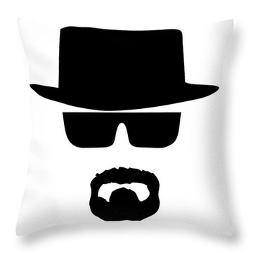 Heisenberg Breaking Bad Throw Pillow