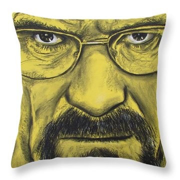 Heisenberg - Breaking Bad Throw Pillow