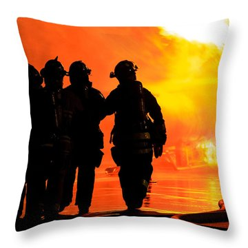 Hell Is For Hero's Throw Pillow by Sennie Pierson