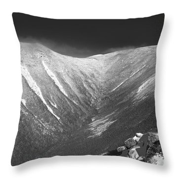 Hellgate Ravine - White Mountains New Hampshire Throw Pillow