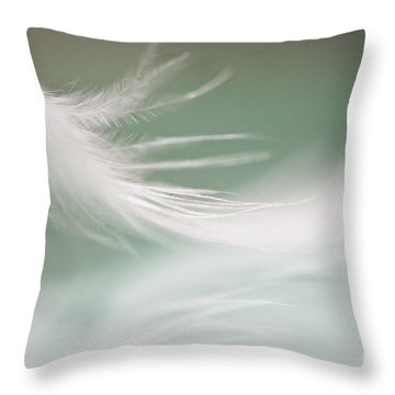 Hello Again Throw Pillow