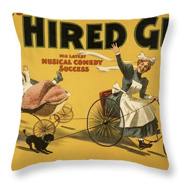 Hello Sergeant Throw Pillow by Aged Pixel