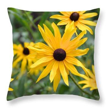 Hello Sunshine Throw Pillow