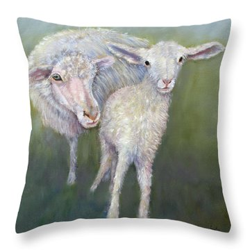 Hello World Throw Pillow by Loretta Luglio