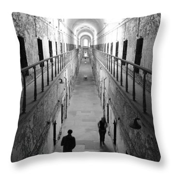 Hell's View Throw Pillow
