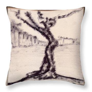 Help Throw Pillow by Bedros Awak