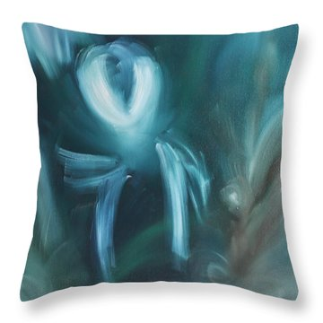 Helpless Throw Pillow