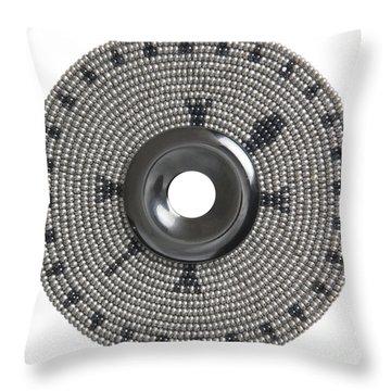 Hematite Throw Pillow