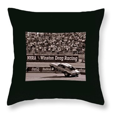 Hemi Under Glass Throw Pillow