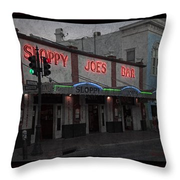I Heard I Was In Town Throw Pillow by John Stephens