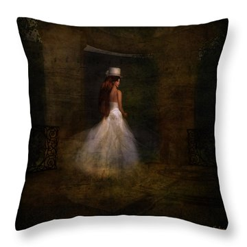 Her Day Throw Pillow by Kylie Sabra