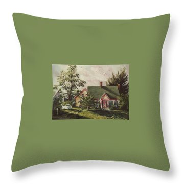 Her House Throw Pillow