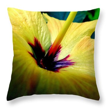 Her Majesty Throw Pillow by Karen Wiles