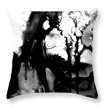 Her Story His Story Throw Pillow