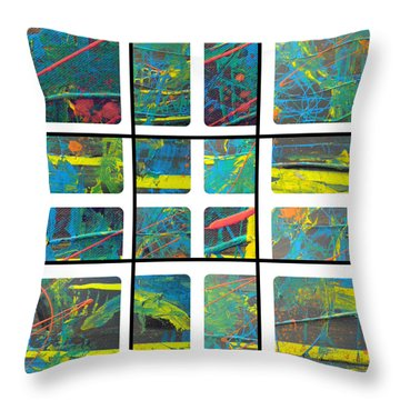 Throw Pillow featuring the photograph Herbal Thoughts Part One by Sir Josef - Social Critic - ART