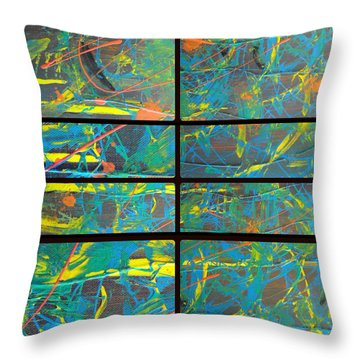 Throw Pillow featuring the photograph Herbal Thoughts Part Three by Sir Josef - Social Critic - ART