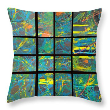 Throw Pillow featuring the photograph Herbal Thoughts Part Two by Sir Josef - Social Critic - ART