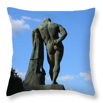 Throw Pillow featuring the photograph Hercules  by HEVi FineArt