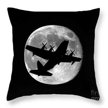 Hercules Moon Throw Pillow