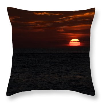 Throw Pillow featuring the photograph Here Comes The Sun by Greg Graham