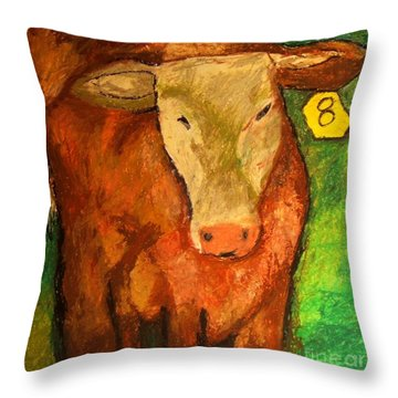 Hereford Art Throw Pillow
