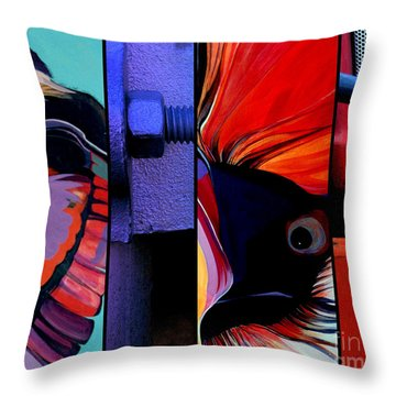 Here's Lookin' At You Kid Throw Pillow