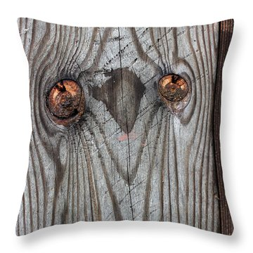 Here's Looking At You 2 Throw Pillow