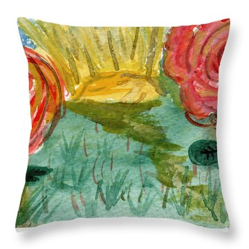 Here's To Better Days Ahead Throw Pillow