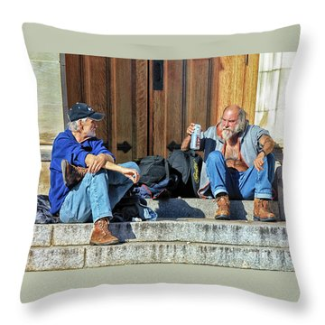 Here's To Your Health Throw Pillow