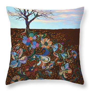 Heritage Throw Pillow by Erika Pochybova