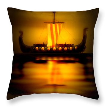 Heritage Throw Pillow by Nina Fosdick