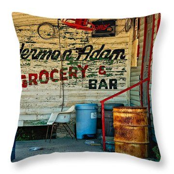 Herman Had It All Throw Pillow