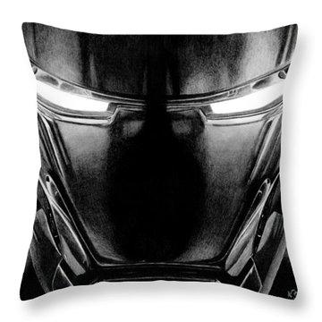 Hero In Shining Iron Throw Pillow by Kayleigh Semeniuk