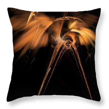 Heron - Marucii Throw Pillow