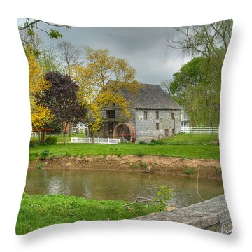 Herr's Mill Throw Pillow