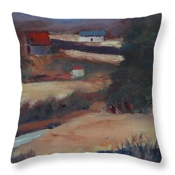 Herschel Hudson Plein Air Throw Pillow