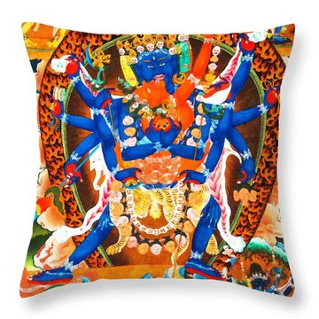 Heruka Throw Pillow