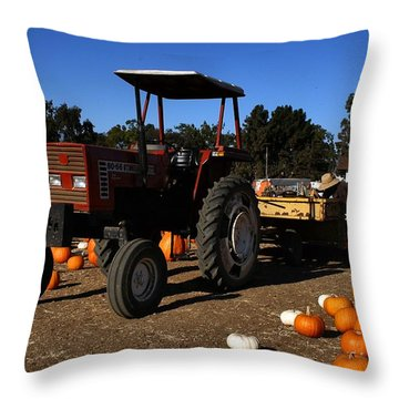 Throw Pillow featuring the photograph Heston 80-66 by Michael Gordon