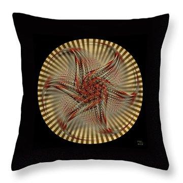 Hexagramma Throw Pillow