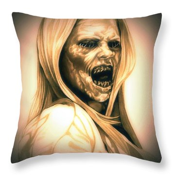 Hexenbiest Grimm Throw Pillow