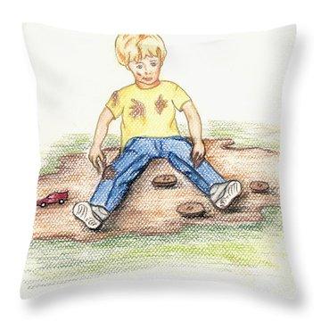 Hez Throw Pillow