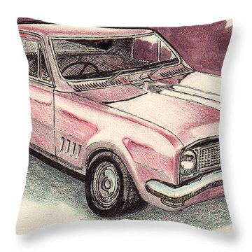 Hg Holden Ute Throw Pillow