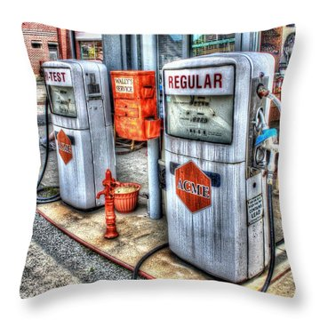 Hi Test And Regular Throw Pillow