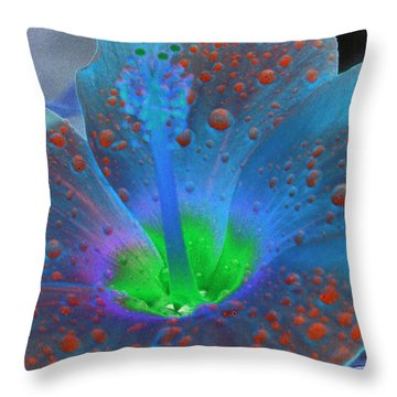 Hibiscus - After The Rain - Photopower 775 Throw Pillow by Pamela Critchlow