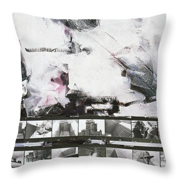 Hic Et Ubique Throw Pillow
