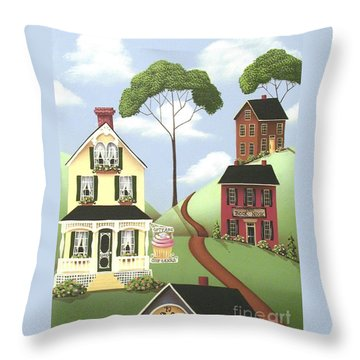 Hickory Grove Throw Pillow by Catherine Holman