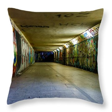 Hidden Art Throw Pillow